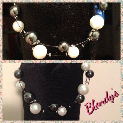 Braccialetto perle&pietre dure