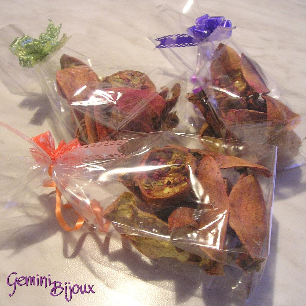 Melograni essicati uso decorazione 50 grammi