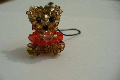 orsetto con cristalli swarovski