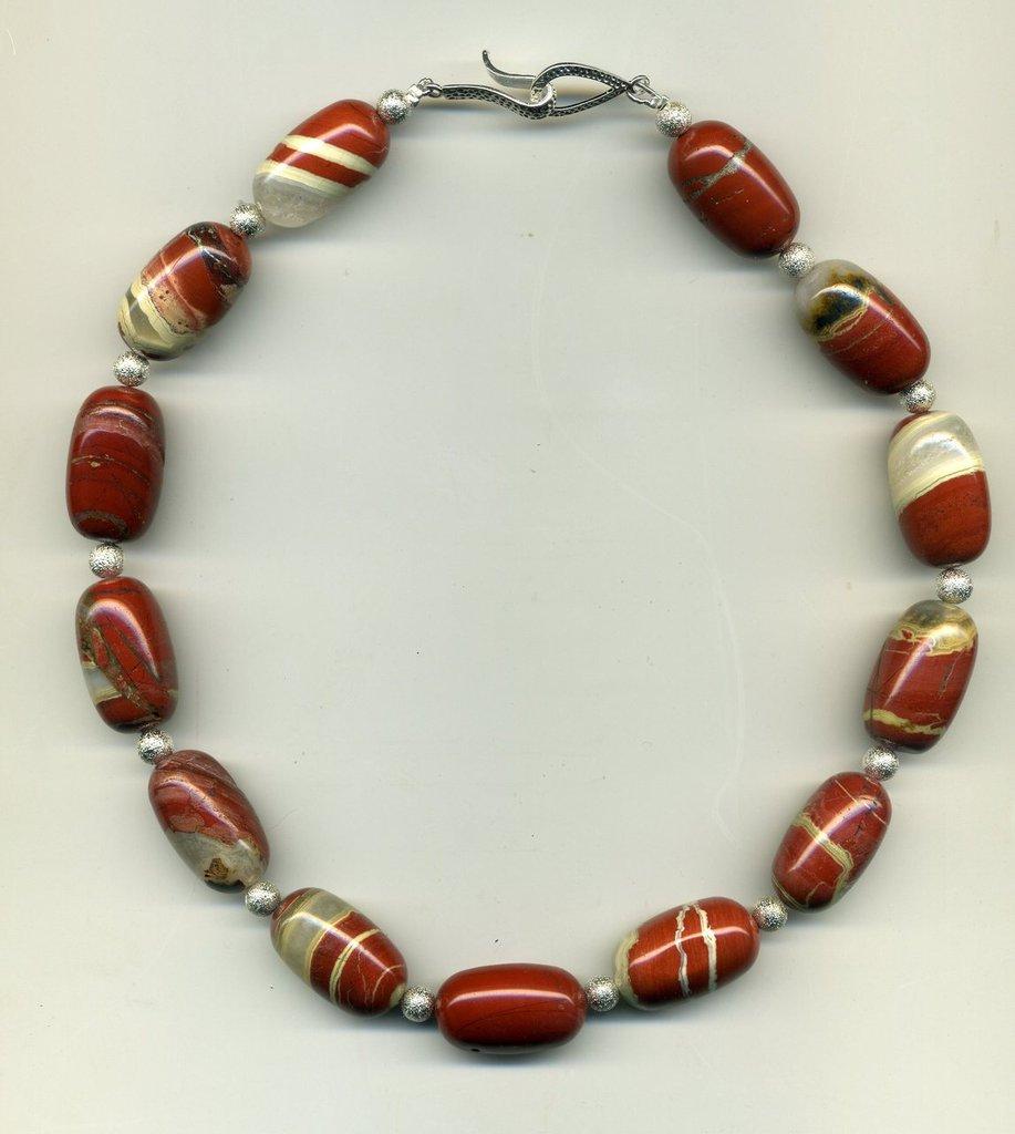 GIROCOLLO in diaspro rosso
