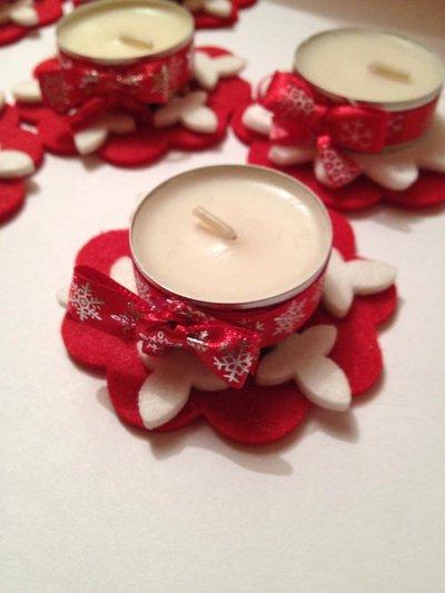 candeline natalizie profumate