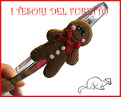 "Cerchietto ""NATALE Gingerbread"" fimo cernit kawaii"