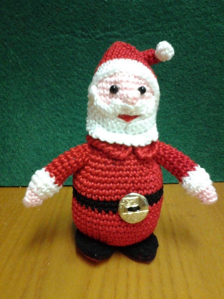 Babbo Natale ad uncinetto amigurumi