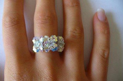 anello a fiori