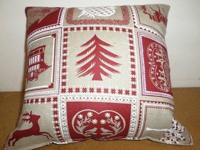 Cuscino decorato.