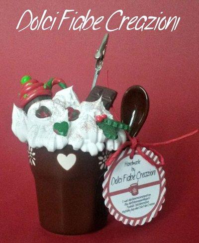 Tazza golosa Natale - marrone