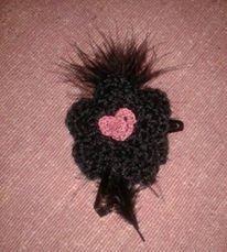 fermaglio capelli romantico