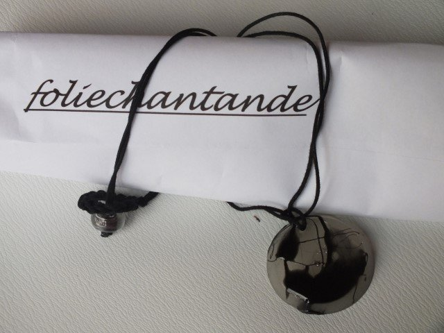 Collana pendente tondo (C15098)
