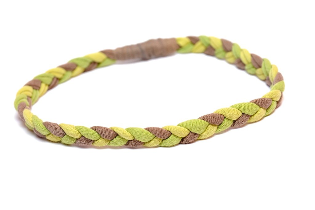 "fascia ""hippy"" verde"
