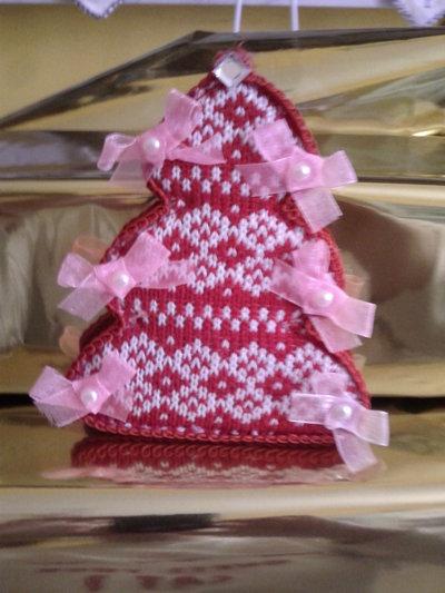 Spilla rigida albero di Natale grande