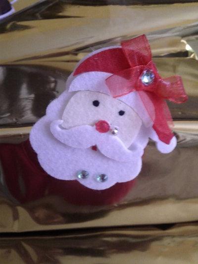Spille faccia di Babbo Natale