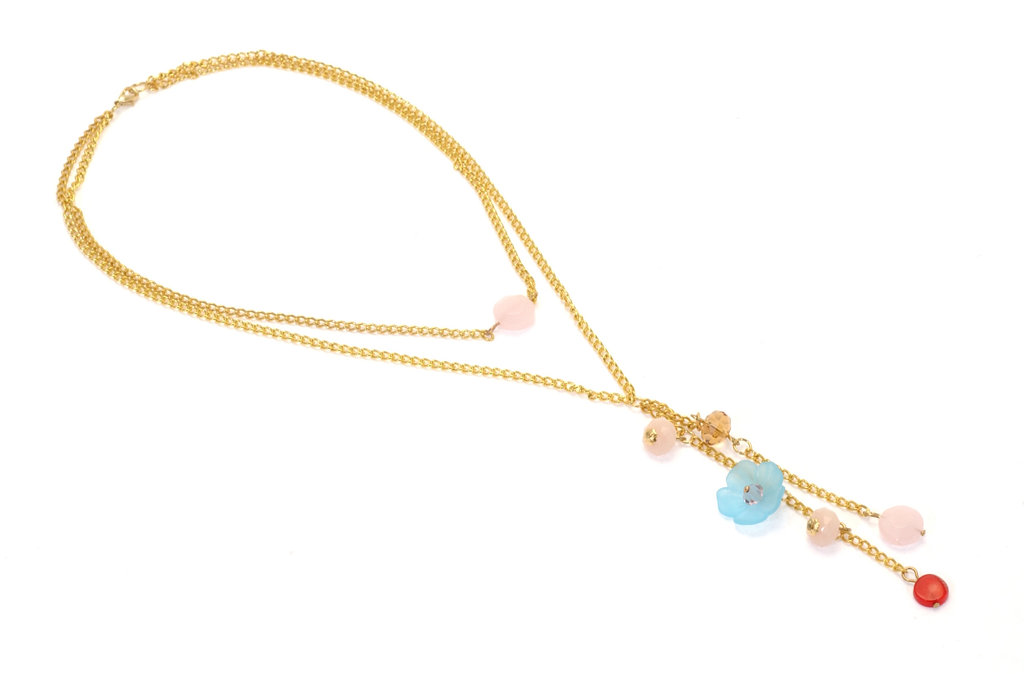 SPRINGTIME NECKLACE/al momento venduta