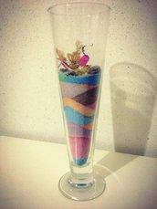 Bicchiere decorato