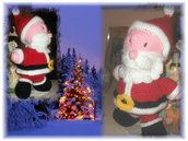 babbo natale angelo gadget natalizi