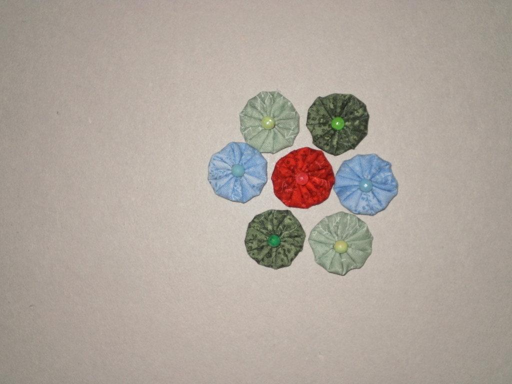 Yo-yo circolari per centrotavola, borse, bomboniere, maglie
