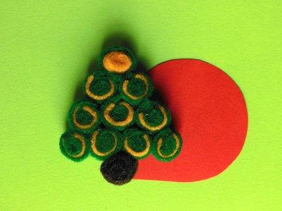 Segnaposto natalizio 'albero di natale'