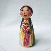 Cuore Immacolato di Maria Vergine Gesù bambola