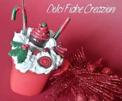 PROMO SCONTO 10% Tazza golosa Natale - semplice rossa