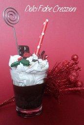 Bicchiere cioccolata calda