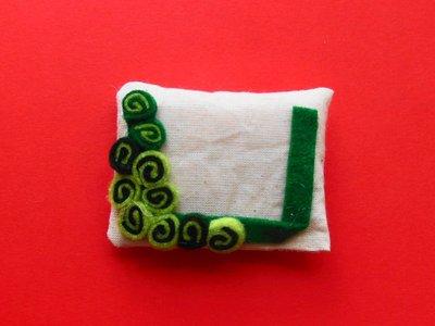 Cornice calamita verde e bianca: l'idea regalo natalizia!