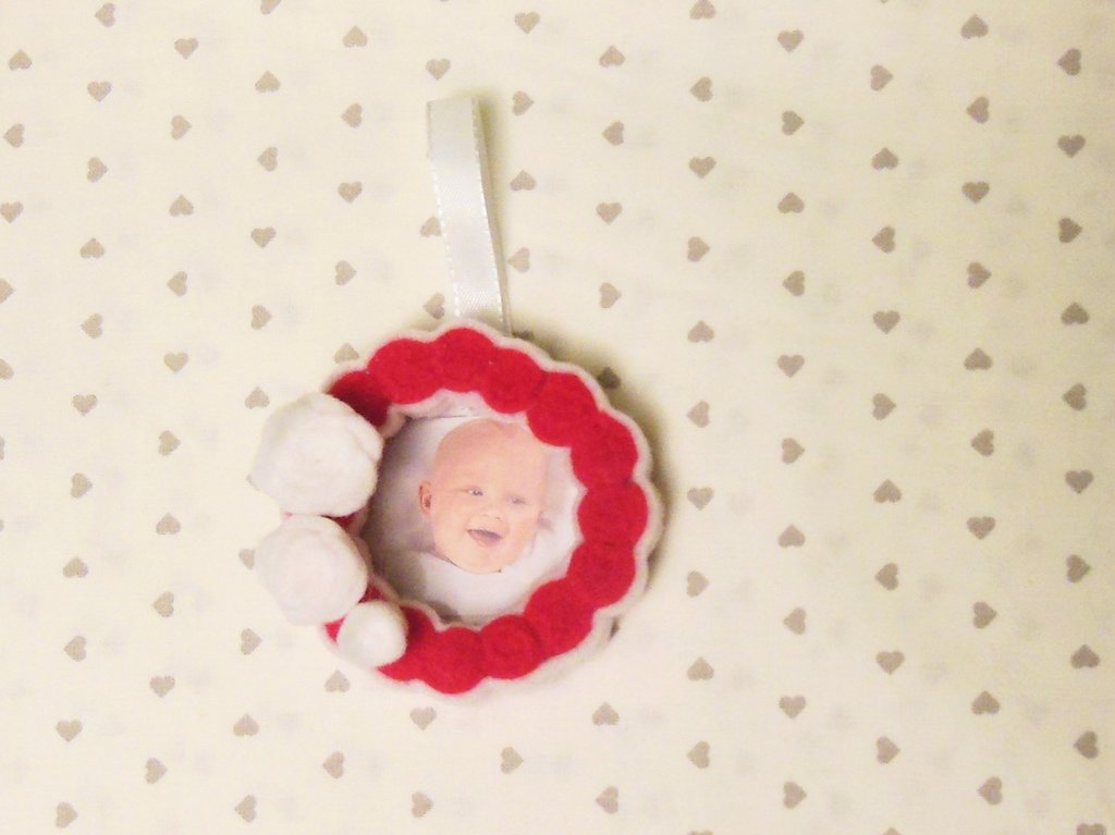 Decorazione natalizia 'Albero di famiglia' la cornice per il tuo natale!