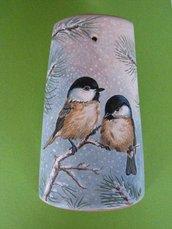 Gli uccellini e la neve