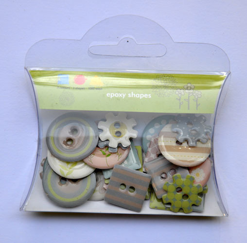Bottoni Decorativi Pastel