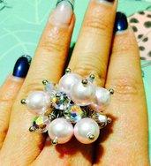Anello Swarovski perle