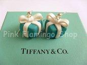 Orecchini 'Tiffany' pacchetto regalo