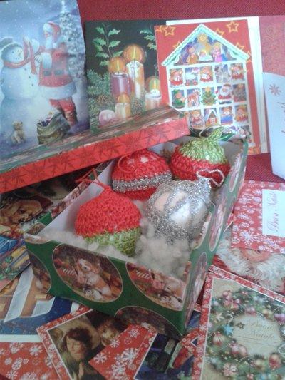 set decorazioni natalizie