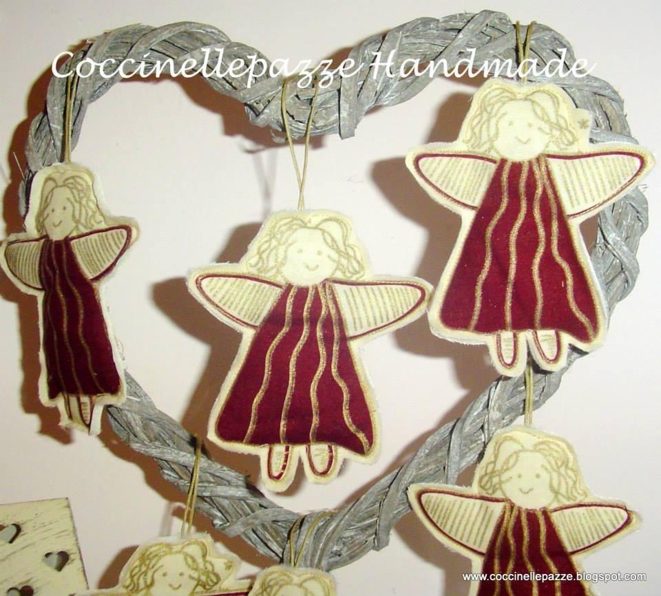 ANGIOLETTO PER ALBERO DI NATALE DECORAZIONE NATALIZIA decorazioni natalizie