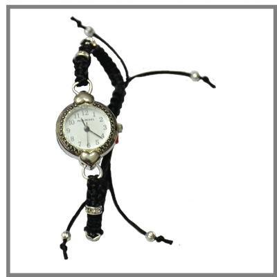Bracciale orologio cuoricini