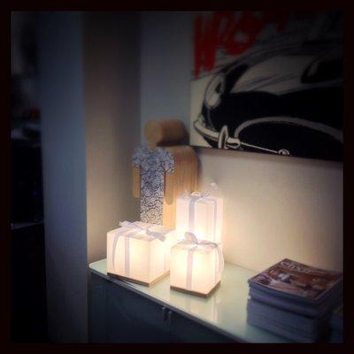 Luci decorative lampada natalizia potenza del natale - Luci decorative ...