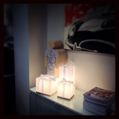 Luci decorative - Lampada Natalizia - Potenza del Natale - 3 Lampade