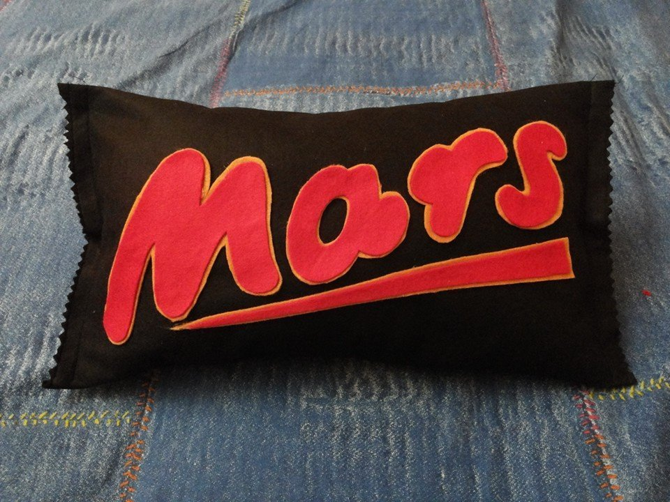 Cuscino Goloso! Mars...