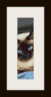 PDF schema bracciale gattino1 in stitch peyote pattern - solo per uso personale
