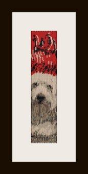 PDF schema bracciale dog in stitch peyote pattern - solo per uso personale