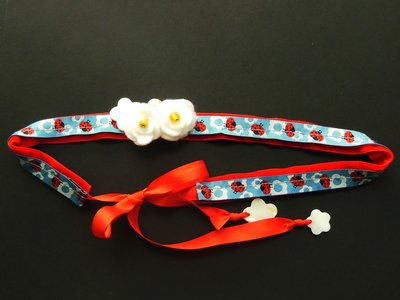 Cintura di stoffa per bambina