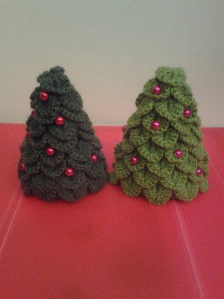 Albero Di Natale Uncinetto Feste Natale Di Le Creazioni Di Ma