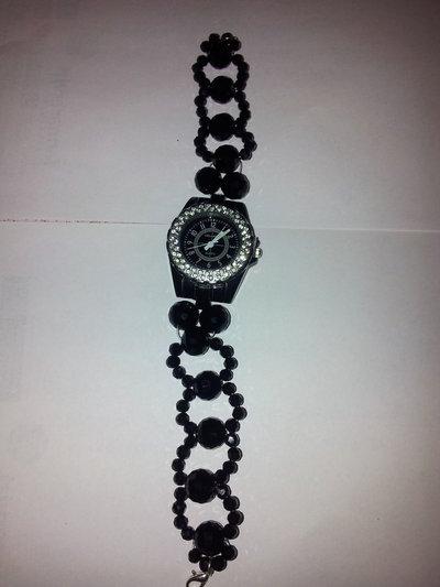 orologio fatto a mano maglia particolare