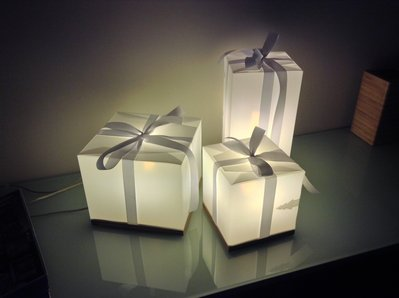 Luci decorative - Lampada Natalizia - Potenza del Natale - Piccola