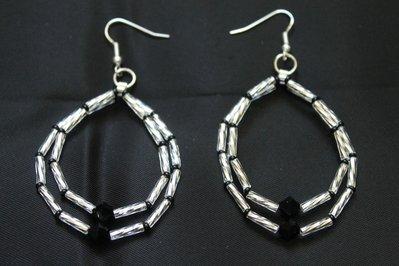 PROMOZIONE Orecchini Swarovski e Twisted Bugle Toho Fatto a Mano Handmade Earrings