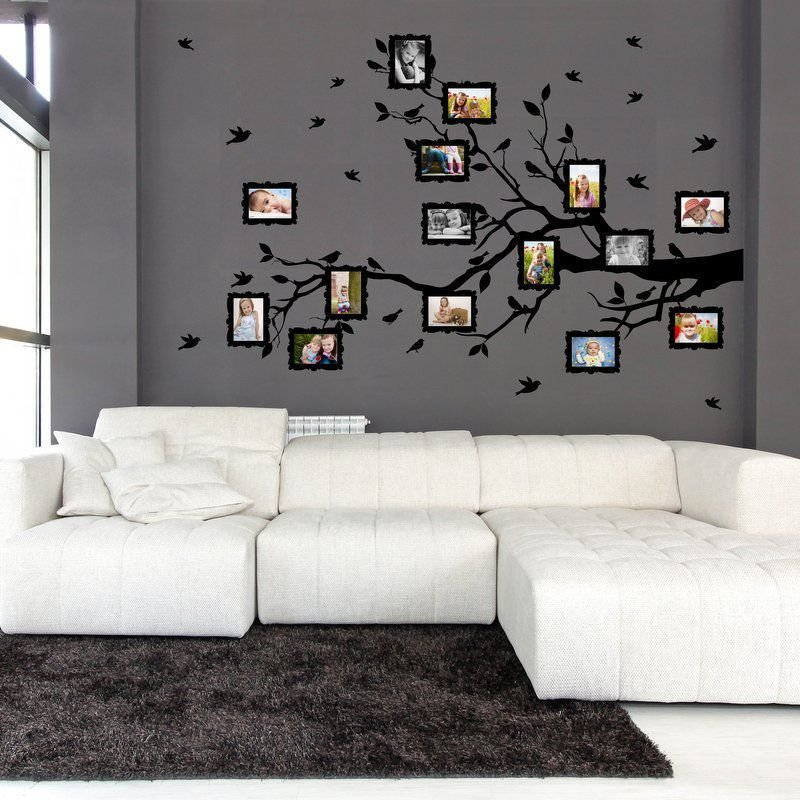wall sticker adesivo da parete family twig for photos