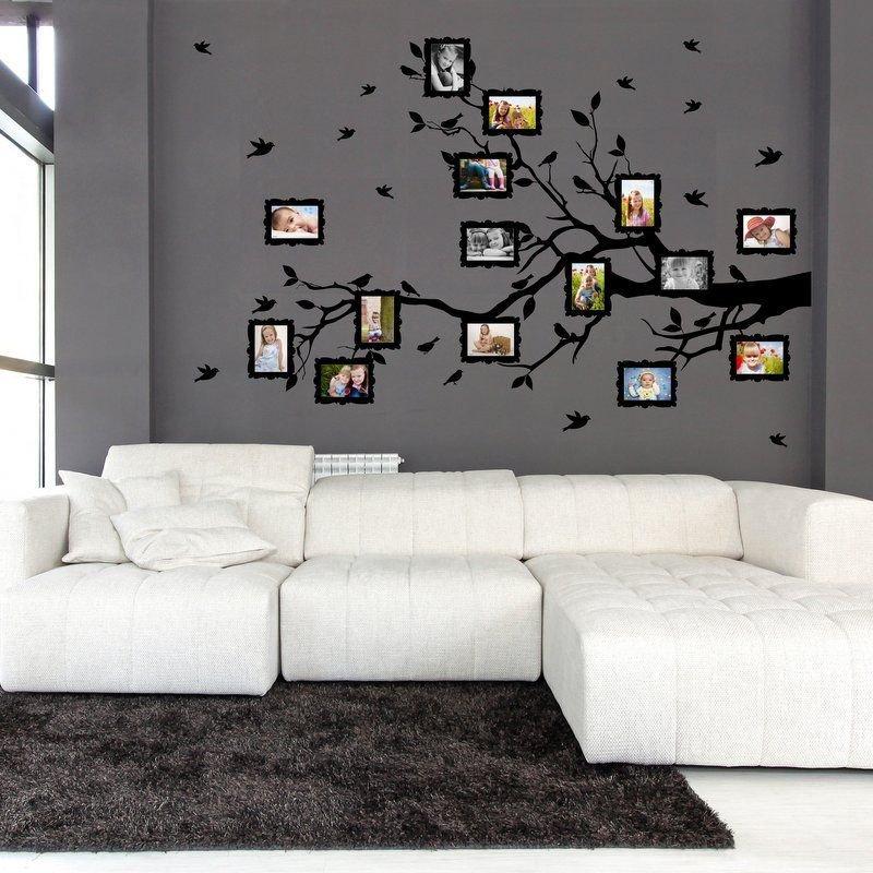 Wall sticker / Adesivo da parete Family twig for photos 9x13cm (3400n)