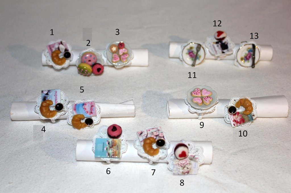 Anelli regolabili miniature