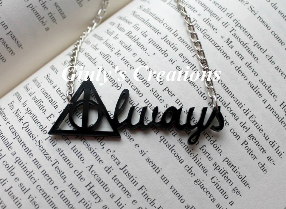 Collana ALWAYS di harry potter
