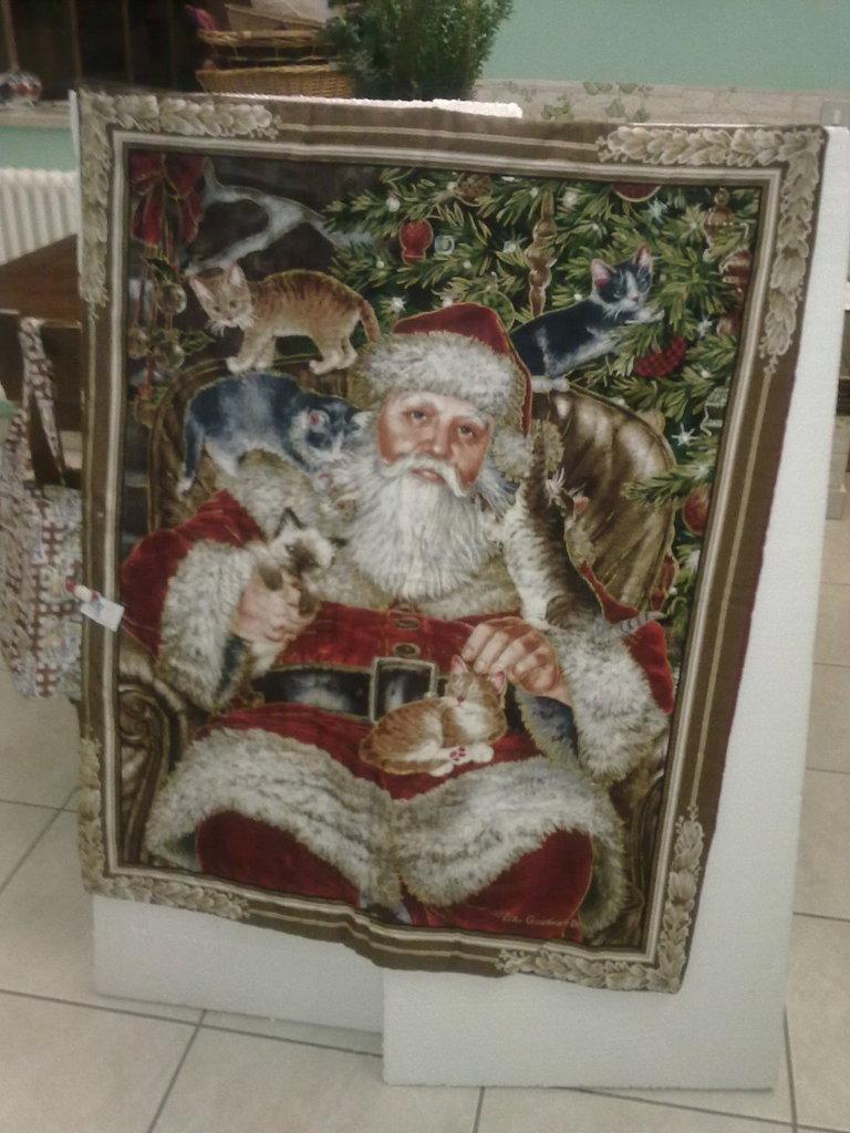 pannello di Babbo Natale