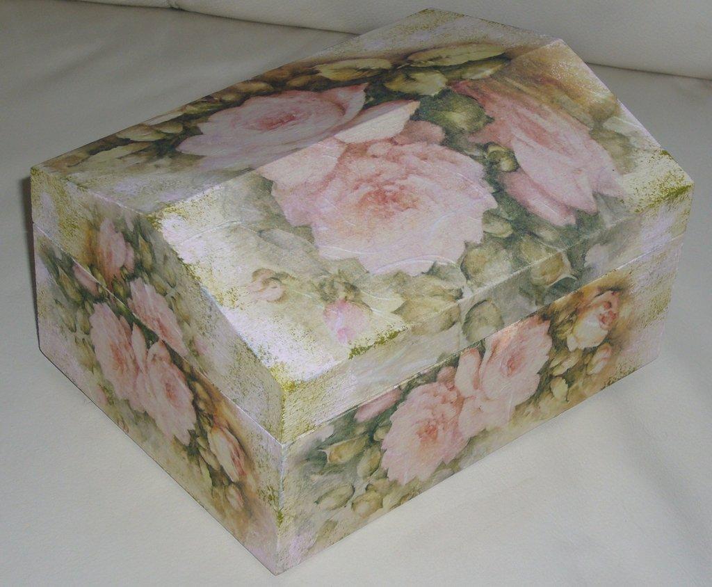 Cofanetto Rose Rosa