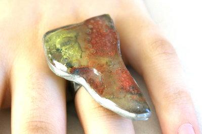anello in vetro fusione
