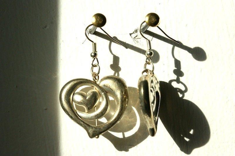 coppia di orecchini fantasia